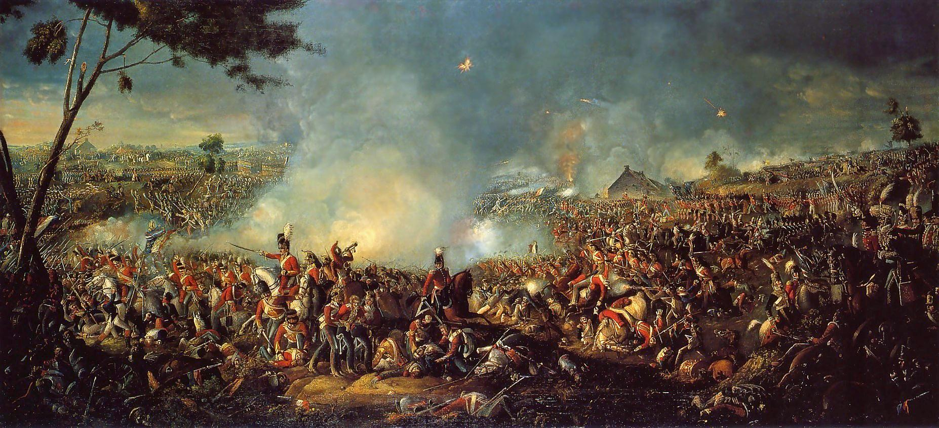 Loughborough-RollofHonour.com - The Battle of Waterloo 1815